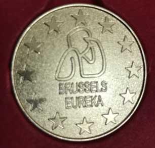 Bogdan Vladila Medalie de aur Brussels