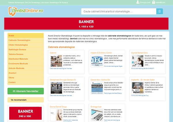 exemplu promovare banner