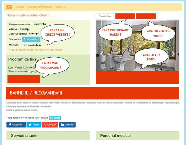 exemplu pachet gratuit
