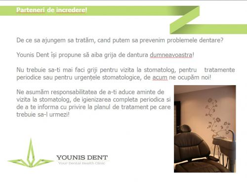 Clinica Stomatologica YOUNIS DENT poza 1