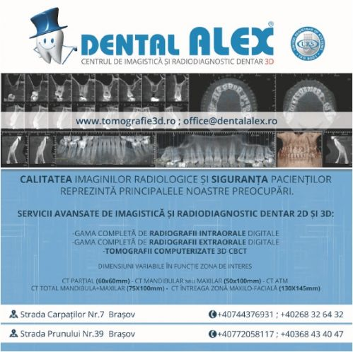 DENTAL ALEX- Centrul de Imagistica si Radiodiagnostic Dentar 3D poza