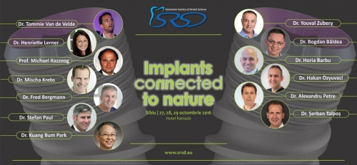 Imagine Implants Connected to Nature 2016 27-29 octombrie 2016