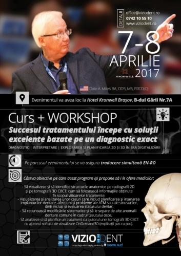 Imagine Curs 7-8 Aprilie Dr. Dale Miles CBCT Radiologie Dentara