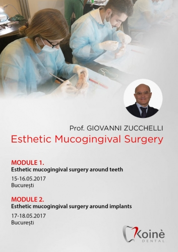 Imagine Modul 1 Esthetic mucogingival surgery around teeth, Bucuresti