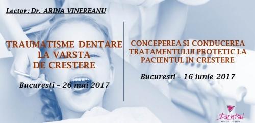 Imagine Curs Traumatisme dentare la varsta de crestere Bucuresti