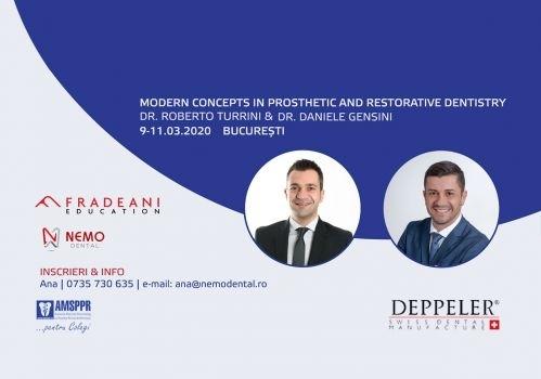 Imagine Curs  de Estetica Moderna in PROTETICA & RESTAURARI Sustinut  de Dr.Roberto TURRINI & Dr.Daniele GENSINI