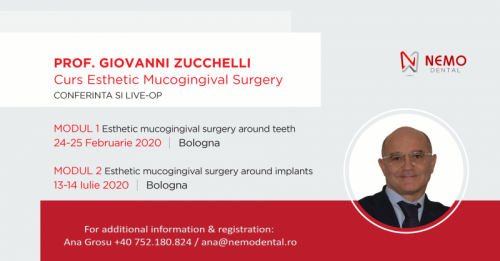 Imagine ESTHETIC MUCOGINGIVAL SURGERY  by  Prof. Dr. GIOVANNI ZUCCHELLI - Bologna - 2020