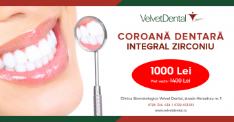 Imagine Promotia lunii mai - coroana dentara zirconiu